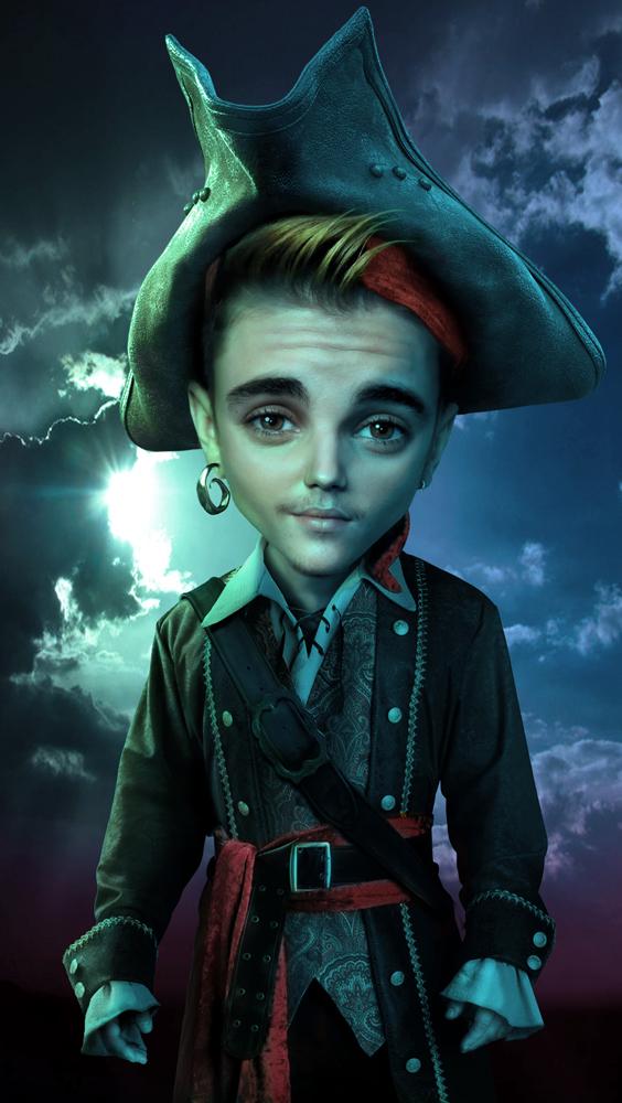 Justin Bieber pirate