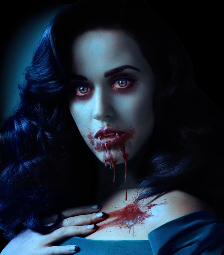 Katy Perry vampire